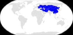 Ubicación de Imperio mongol