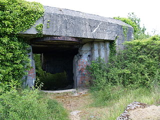 Mont Canisy battery
