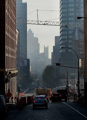 Saint Urbain Street - Saint Urbain Street in Downtown Montreal.