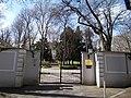 Monument mansion, now the Austrian ambassador's residence. Courtyard gate. - Budapest, XII. district. Városmajor Street, 28B.JPG