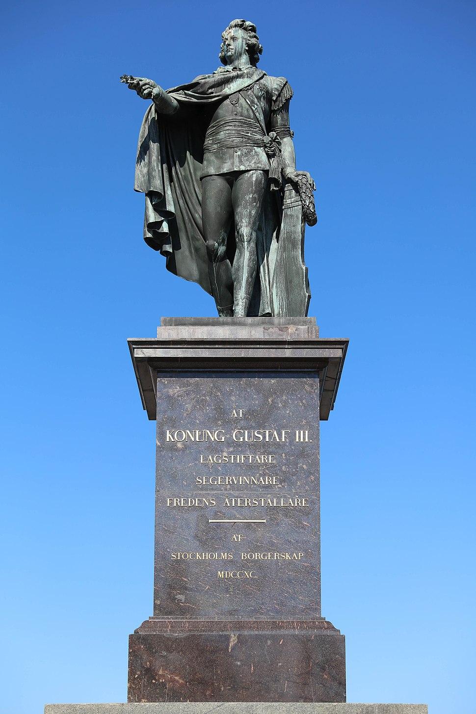 Monument to King Gustav III of Sweden (Stockholm)