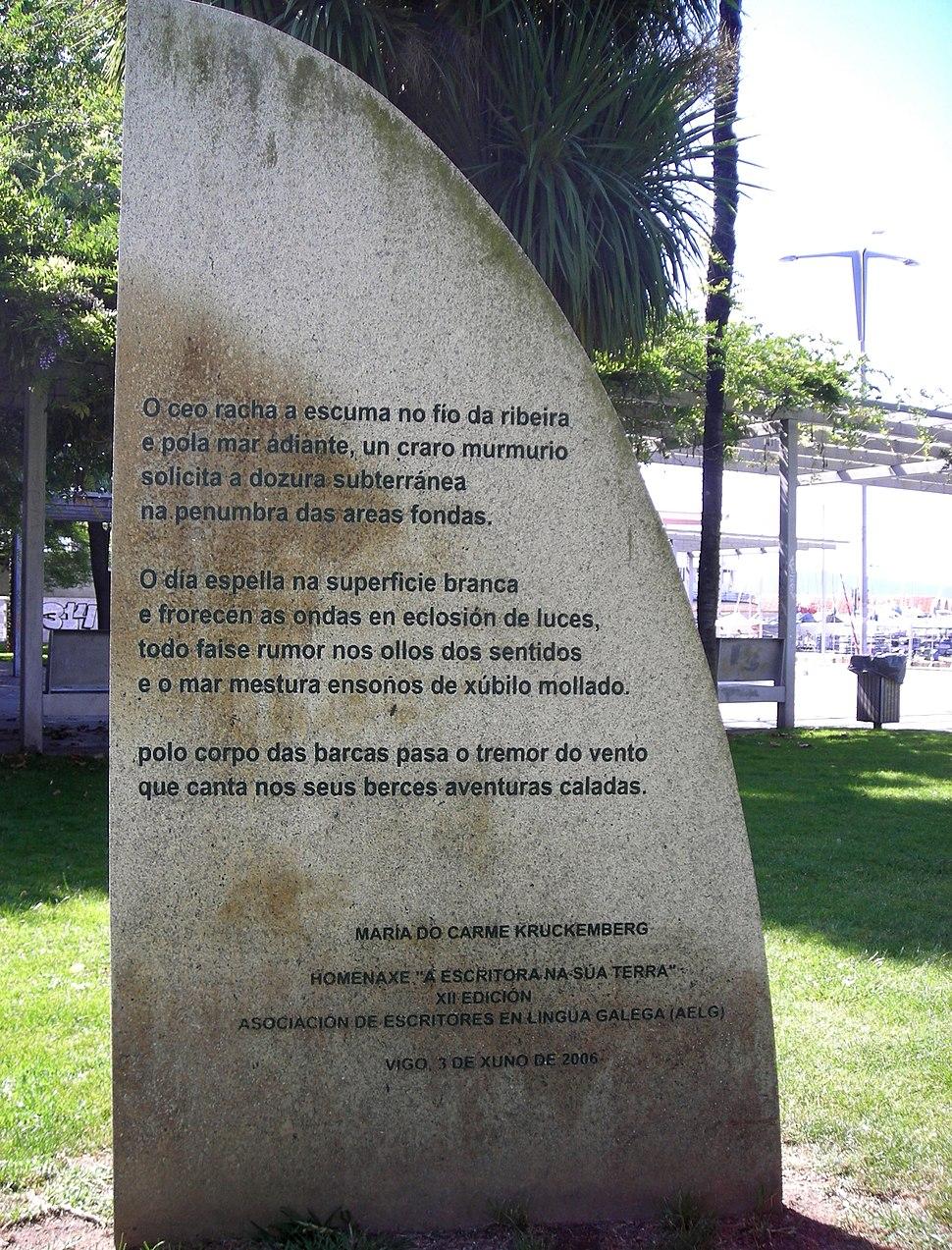 Monumento Kruckenberg Vigo