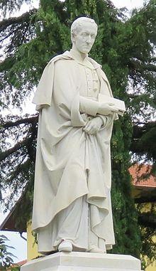 Monumento ad Antonio Rosmini, in Corso Rosmini, a Rovereto