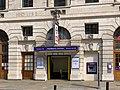 Moorgate station front Britannic House 2020.jpg