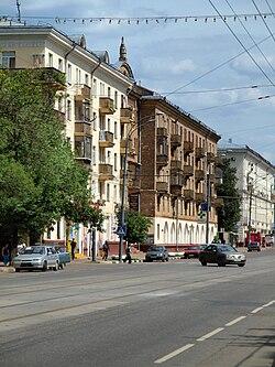 Skyline of Vostochnoye Izmaylovo縣