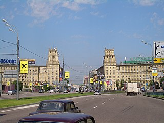 Gagarinsky District, Moscow District in Moscow, Russia