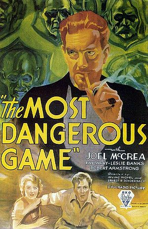 Poster tayangan pawagam filem The Most Dangerous Game