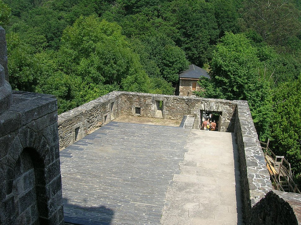 Mosteiro de San Xoán de Caaveiro.Galicia.España