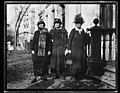 Mrs. Hortense Russell, left, of San Francisco, Miss Lucy Branham, Wash., D.C. and Mrs. John Jay White, of N.Y., who will lead the delegation to interview Pres. Coolidge on Nov. 17 LCCN2016892798.jpg