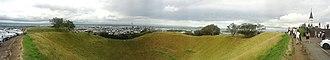 Maungawhau - Image: Mt. Eden Panorama December 2012