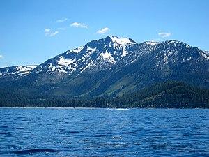 Sierra Nevada (U.S.) - Mount Tallac above Lake Tahoe