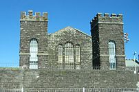 Part of Mt Eden prison, Auckland, New Zealand.
