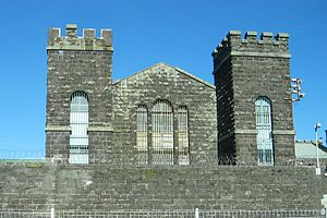Mount Eden Prisons - The old Mt Eden prison exterior.