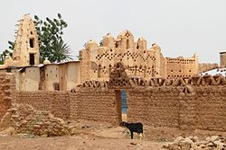 Mud Mosque - Bani - Sahel Region - Burkina Faso - 01.jpg