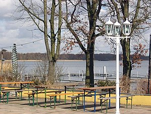"Müggelsee - Lake and Restaurant ""Müggelsee-Terraces Rübezahl"""