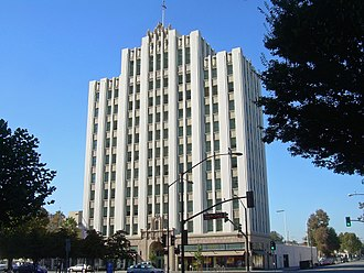 Downtown San Jose - The Medico-Dental Building was built in 1928.