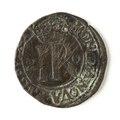 Mynt av silver. 2 öre. 1591 - Skoklosters slott - 109094.tif