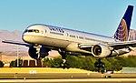 N503UA United Airlines Boeing 1989 757-222 - 5403 (cn 24624-247) (6839131901).jpg