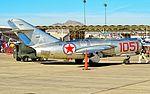 N87CN Mikoyan-Gurevich MiG-15 Fagot C-N 910-51 (15746360536).jpg