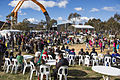 NAIDOC on the Peninsula held on the grounds between AIATSIS and the NMA, 6 July, 2014.jpg