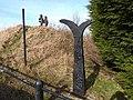 NCN Millennium Milepost MP452 Leadgate County Durham.jpeg