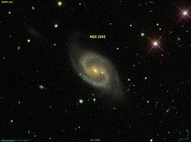 Image illustrative de l'article NGC 2543