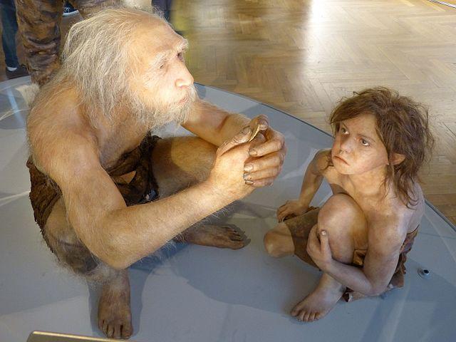 Recreación de neanderthales