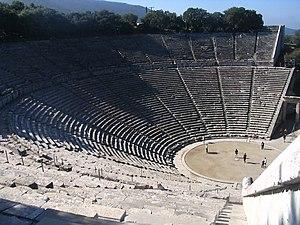 Nafplio, Greece - Ancient Epidaurus Theatre Site.jpg