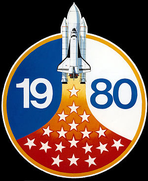 NASA Astronaut Group 9 - Class patch; the patch features nineteen stars representing the nineteen NASA astronauts belonging to the group.