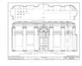 Nassau Hall, Nassau Street, Princeton, Mercer County, NJ HABS NJ,11-PRINT,4B- (sheet 19 of 25).png