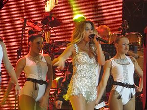 Natalia (Spanish singer) - Performance of Natalia in the commemoration concert of the 15th anniversary of OT in the Palau Sant Jordi of Barcelona (31-10-2016)