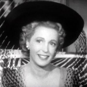 Natalie Schafer - In the film Dishonored Lady (1947)