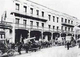 National Exchange Hotel - National Hotel in 1894