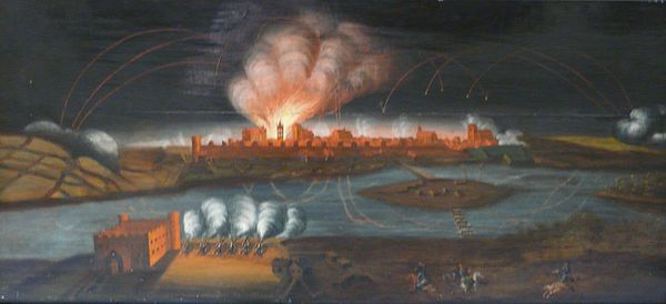 Siege of Torun in 1703.