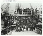 Naval Officers and cadets on the N.S.S Sobraon (8167988813).jpg