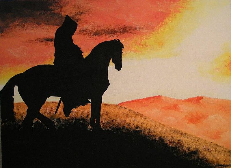 File:Nazgûl mirando el crepúsculo.jpg
