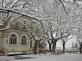 Neige sur cours d'école.JPG
