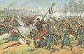 Neumann, Fritz - Gefecht zwischen dem 2. bayerischen Infanterie-Regiment und französischen Truppen bei Wörth am 6. August 1870.png