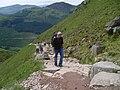 Nevis path getting busier - geograph.org.uk - 856604.jpg