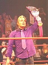 Hardy As The TNA World Heavyweight Champion In November 2010