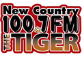 New Country 100.7 The Tiger logo.png