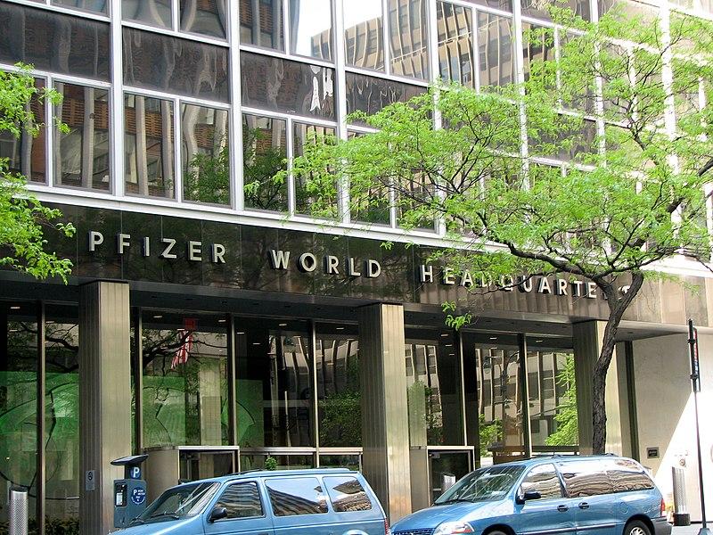 siège de la société PFIZER
