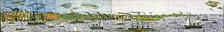 New York Harbor Panorama