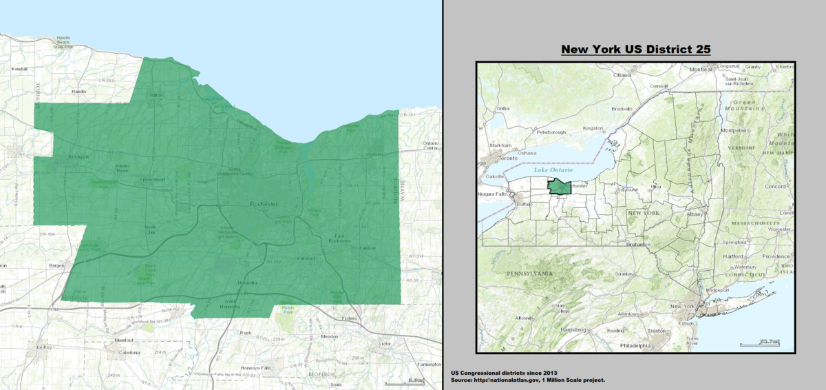 New York\'s 25th congressional district - Wikipedia