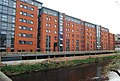 New student accommodation on the banks of the R. Don, Sheffield - geograph.org.uk - 783701.jpg