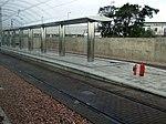 New tram line at Edinburgh Airport (geograph 3229259).jpg