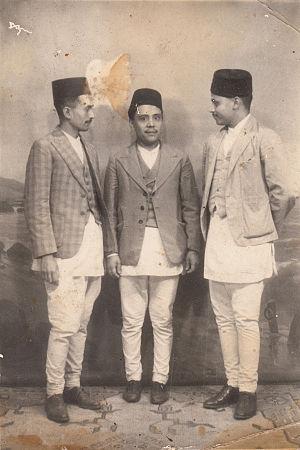 Newar gentlemen of Kathmandu 1940