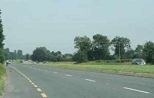 R445 road (Ireland) - Image: Newbridge Road