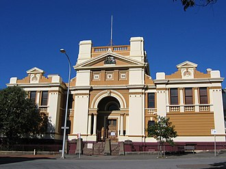 Newcastle Court House - Image: Newcastle courthouse OIC
