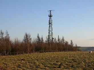 Newnham, Northamptonshire - The Air Traffic Control Mast on Newnham Hill